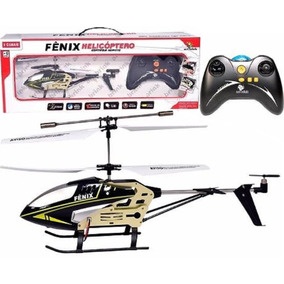 Helicóptero Fenix Controle Remoto 6 Comandos Voa Estável