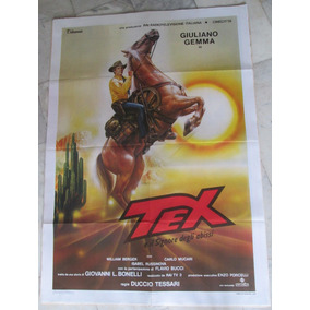 Tex Giuliano Gemma Cartaz Original Cinema Western
