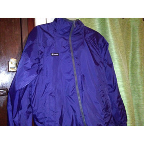 Campera Columbia Impermeable Reversible.