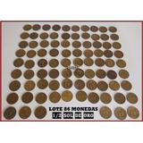 Dante42 Lote 86 Monedas Peru 1/2 Soles De Oro 1967 Al 1975