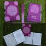 Cuaderno Agenda De Mandalas Argollada Pastas Duras 100 Hojas