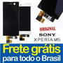 Tela Frontal Xperia M5 E5633 E5643 Display Lcd + Garantia!