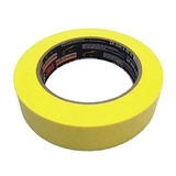 3m Fita Crepe Amarela Alta Performance - 24mm X 40m - (un)