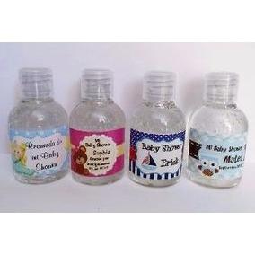 Recuerdo Personalizado Bautizo Baby Frasco Gel Antibacterial