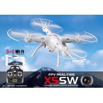 Drone X5 Sw Tiempo Real Wi Fi Camara Video Foto Helicóptero