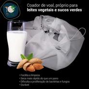 Kit 2 Coadores Voal, Voil , Coador Vegano, Panela Furada
