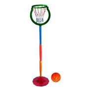 Aro De Basquet Niños - Altura Regulable - Juegosol