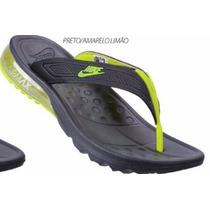 Chinelo Nike Air Max Masculino Gel Amortecedor Conforto