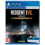 Resident Evil 7 Biohazard Gold Edition Fisico Sellado Ps4