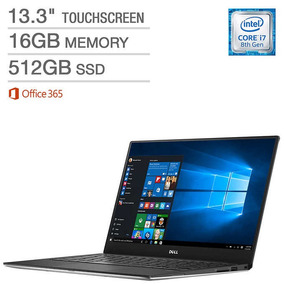 Dell Xps 13 Touchscreen - Intel Core I7 - 16 Ram Office