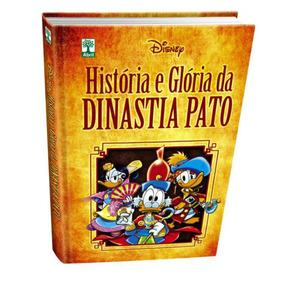 Historia Gloria Dinastia Pato Hq Livro Luxo Disney Lacrado!