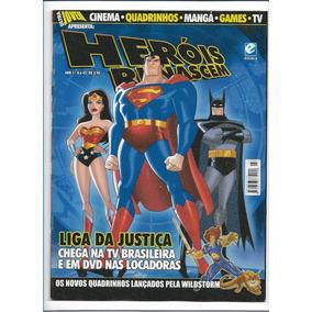 Heróis Renascem Ed 3 Revista Ultra Jovem Liga Da Justiça