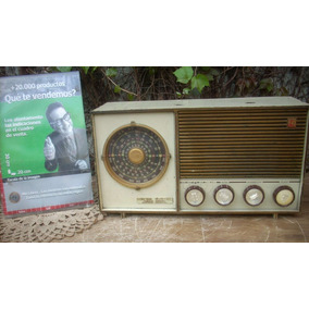 Antigua Radio Valvular General Electric Funciona (7040-r31)