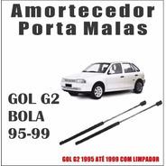 Amortecedor Tampa Traseira Porta Malas Gol G2 95-99 Par