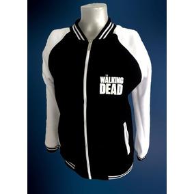 Buzo Besibolera Universitario The Walking Dead Para Niñ@