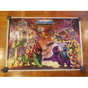 Pôster He-man Masters Of The Universer Motu Original 1984