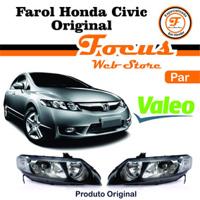 Par Farol New Civic 2007 2008 2009 2010 2011 Original Valeo