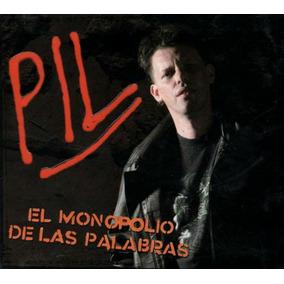 Pil El Monopolio De Las Palabras Cd Nuevo