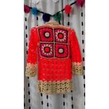 Saco Nena Tejido Crochet