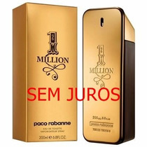 Perfume One Million 200 Ml Edt Original Sem Juros Promoção