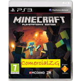Minecraft Ps3 Digital - Caja Vecina