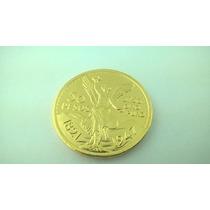 Replica De Centenario En Oro Laminado 1821-1947 Joyeria