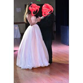 da27041c07 Vestido De 15 Color Rosa Usado - Vestidos de 15 Largos de Mujer en ...