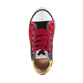 e51957e46b1c9 Tenis Botita Bonita Niño mickey Color Rojo Textil Ws1013