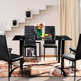 Sala De Juntas Con Sillas Color Negra Con Envio Gratis