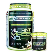 Mutant Mass 1,5 Kg + Creatina X 300gr Star Nutrition