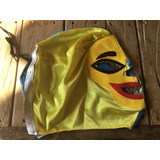Mascara Wwe 2 Caras Lucha Libre Rey Mysterio Halloween Novo