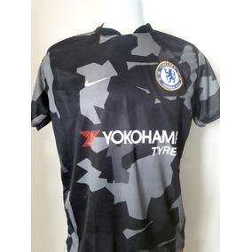 Camisa De Futebol Chelsea Camuflada Super Barato 8051635747da2