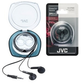 Vendo Audífonos Tipo Botón Jvc Modelo Ha-f10c Nuevos