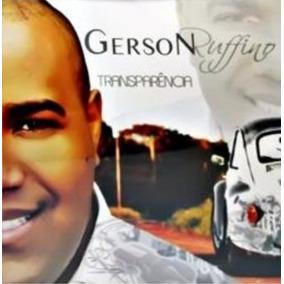 Cd Gerson Rufino - Transparência / Bônus Playback [original]