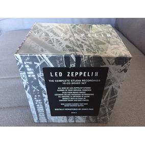 Cd Box Led Zeppelin Complete Studio 10cd Novo Frete Grátis