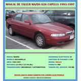 Manual De Taller Reparación Diagramas Mazda 626 1993-1997