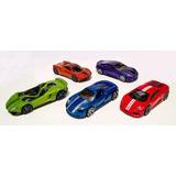 Hw Exotics 2017 5 Pack Lamborghini, Porsche, Hot Wheels 1:64