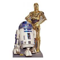 Amp R2-d2; C-3po - Star Wars Clásicos (iv - Vi) - Tamaño De