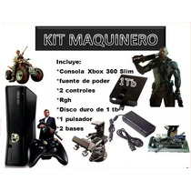 Kit Xbox 360 Maquinitas Completo + Regalo
