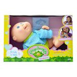 Cabbage Patch Kids Drink N Wet Newborn Pijama Blue Polka Dot