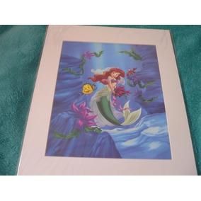 Foto A Pequena Sereia Ariel De Noiva Disney Decorativa Top