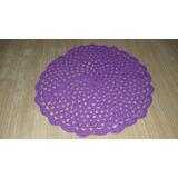 Carpetas De Hilo Tejidas Al Crochet