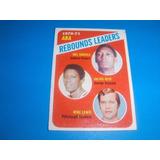 Cv Antigua Mel Daniels Julius Keye Mike Lewis 1971 Topps Nba