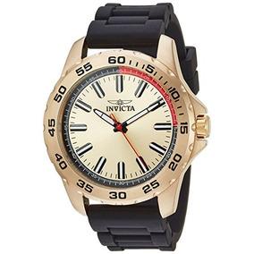 Invicta Reloj Hombre 21940 Poliuretano Dorado