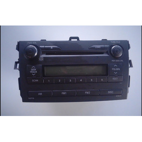 Rádio Original Toyota Corolla 2009/10/11/12