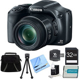 Canon Powershot Sx530 Hs 16mp 50x Opt Zoom Full Hd Cámara...