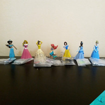 Colección 7 Figuras Princesas Disney Tomy | 5cm No Sonrics