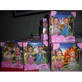 Mini Barbies Muñecas Para Niñas Y Colección