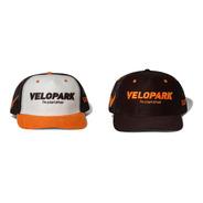 Boné Velopark  I'm A Kart Driver  (branco/laranja/preto)