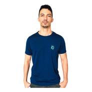 Camiseta Masculina Lobo  Sport T022 Dry Fit Marinho
